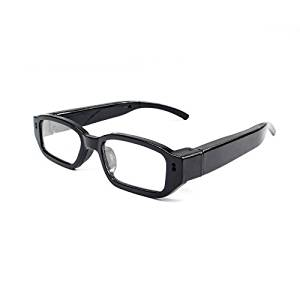 8abf24f094 Nuevas gafas de sol o de ver espía profesionales con cámara oculta de 5 MP,  micrófono integrado, lentes intercambiables y 2 baterías.
