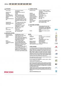 FICHA TECNICA FOTOCOPIADORA MULTIFUNCIONAL RICOH MP 6001 (8)