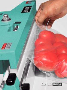 Selladora de bolsas a pedal PFS-450 BOXA 2