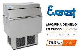 maquina productora de cubos de hielo EGC-150A - EVEREST 5