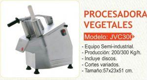 procesador de alimentos y vegetales– JVC300 – BOXA 5