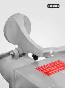 raspadillera electrica inoxidable de 150 kg CROYDON TGCR-TG 5