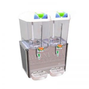 refresquera o dispensador de refrescos 02 tolvas x 18lt. – LSP18X2B 1