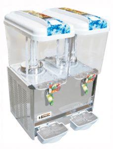 refresquera o dispensador de refrescos 02 tolvas x 18lt. – LSP18X2B 4