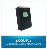 Control de acceso y asistencia ZK-SC403 3