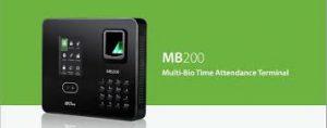 Control de asistencia MB200-ID 3