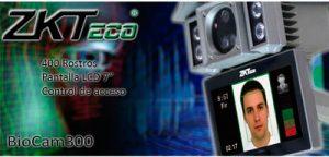 Control de asistencia ZK-BIOCAM300 5