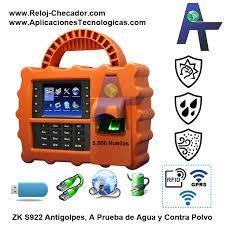 Control de asistencia ZK-S922 4