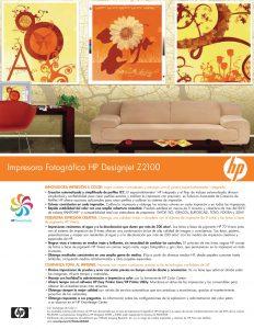 FICHA TECNICA IMPRESORA HP Designjet Z2100 (1)