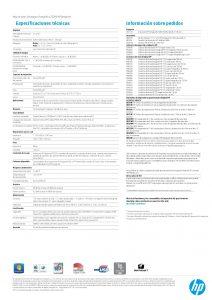 FICHA TECNICA IMPRESORA HP Designjet Z5200 44-in Photo Printer (2)