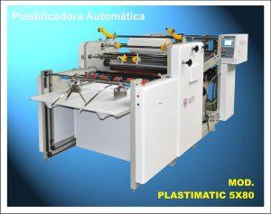 PLASTIFICADORA AUTOMÁTICA MOD. PLASTIMATIC 5X 105 2