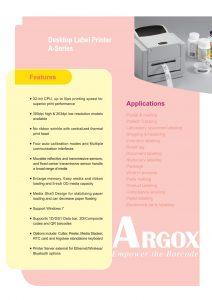ficha tecnica IMPRESORA DE CODIGO DE BARRAS argox cp-2240 (2)