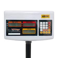 Balanza electrónica de plataforma BCH100 HENKEL 3