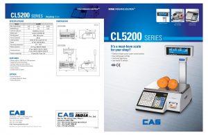 BALANZA ELECTRÓNICA CAS CL5200 FICHA TECNICA