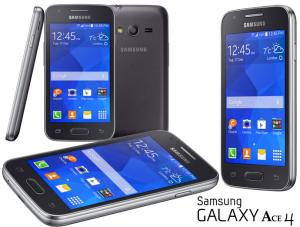 CELULAR SMARTPHONE SAMSUNG GALAXY Ace4 LITE- 3MP- 4GB NEGRO (1)