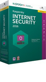Cd-rom - Kaspersky Internet Security 2016 Licencia 3 Pc 1 Año