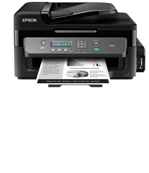 Multifuncional de tinta continua Epson WorkForce M205