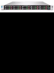 Servidor HP ProLiant DL360 Gen9, Xeon E5-2630v3 2.40GHz, 16GB, 500W, 1U.