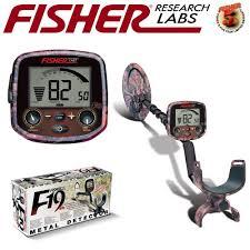 DETECTOR DE TESOROS Y RELIQUIAS FISHER LAB - F19LTD-P (1)