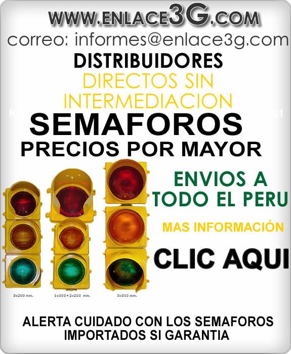Compra y Venta de Semaforo vehicular , Peatonal , en Peru Inteligentes Led